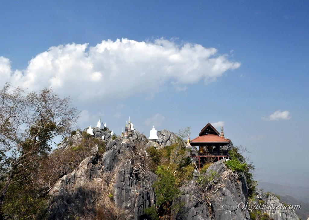 храм на скале Таиланд