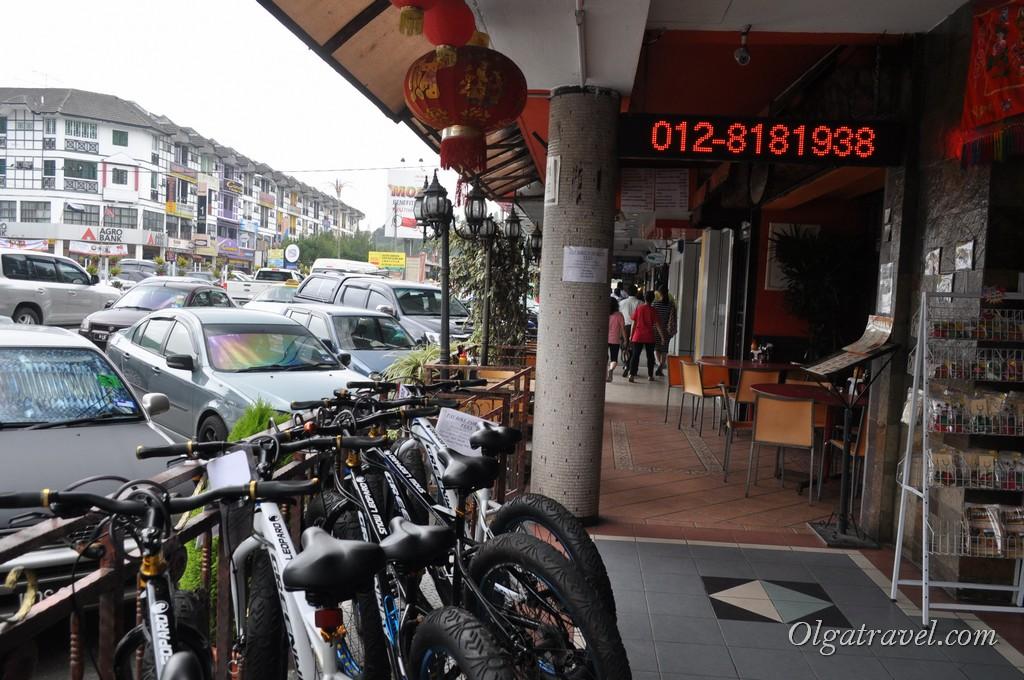 аренда велосипеда Камерон Хайлендс