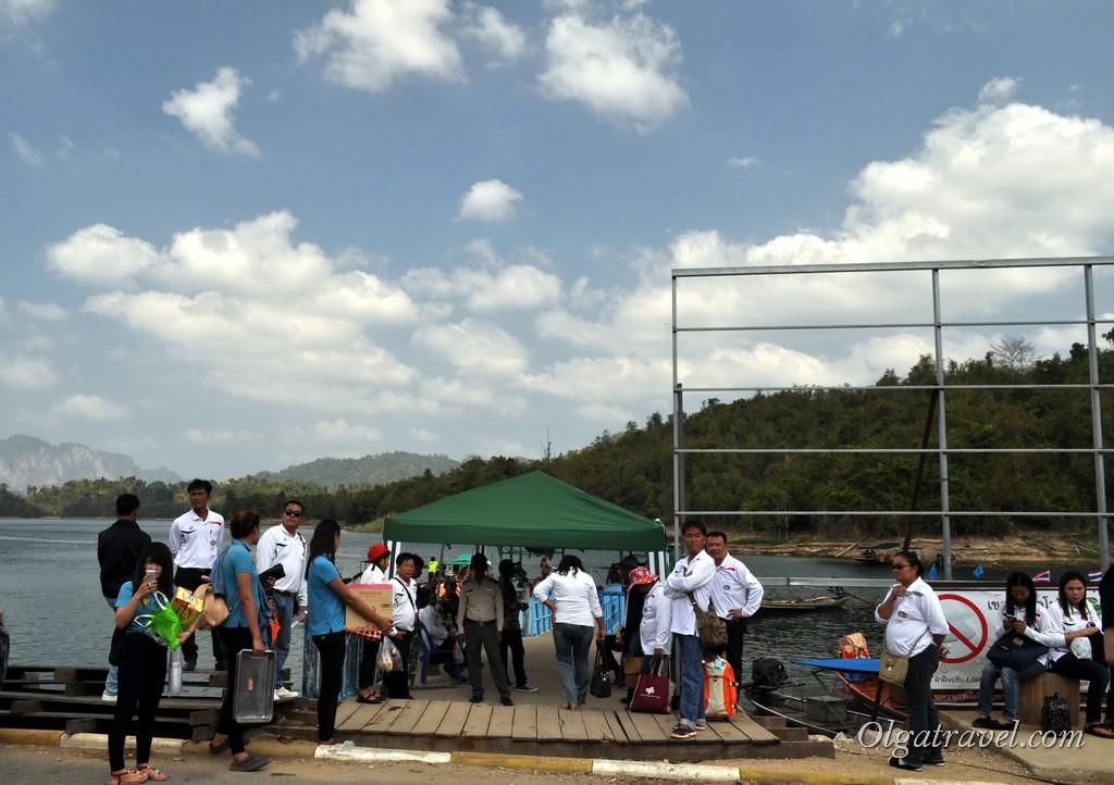 пирс озера Чео Лан