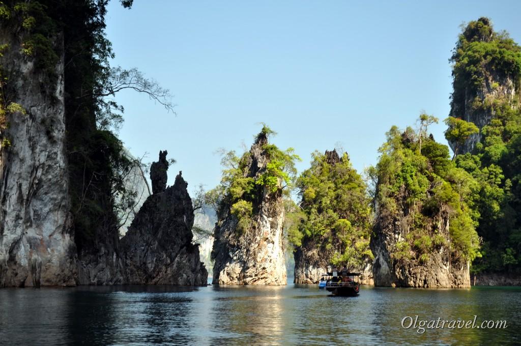 озеро Као Сок Чео Лан
