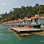 Smiley Lake House – плавучий отель (рафтхаус) на озере Чео Лан. Отзыв, фото, видео