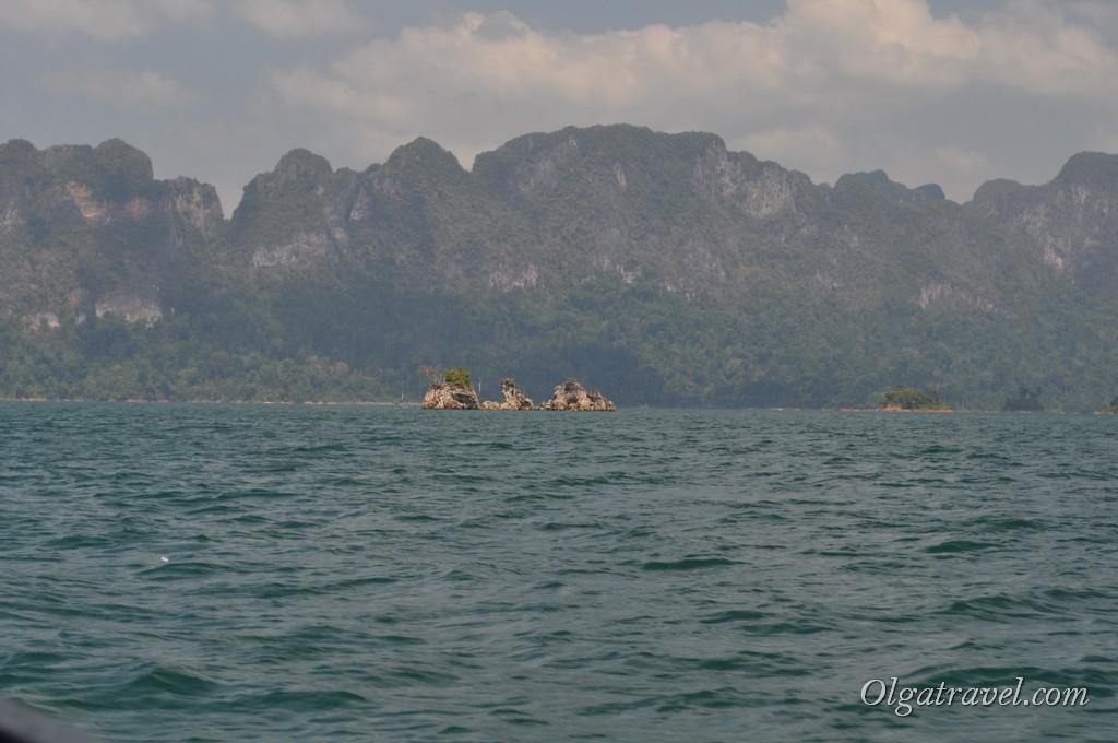 Проплываем маленькие островки