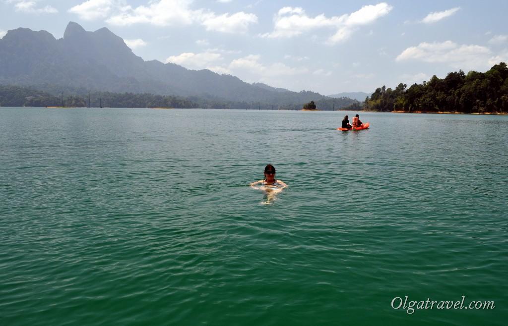 озеро Чео Лан Као Сок