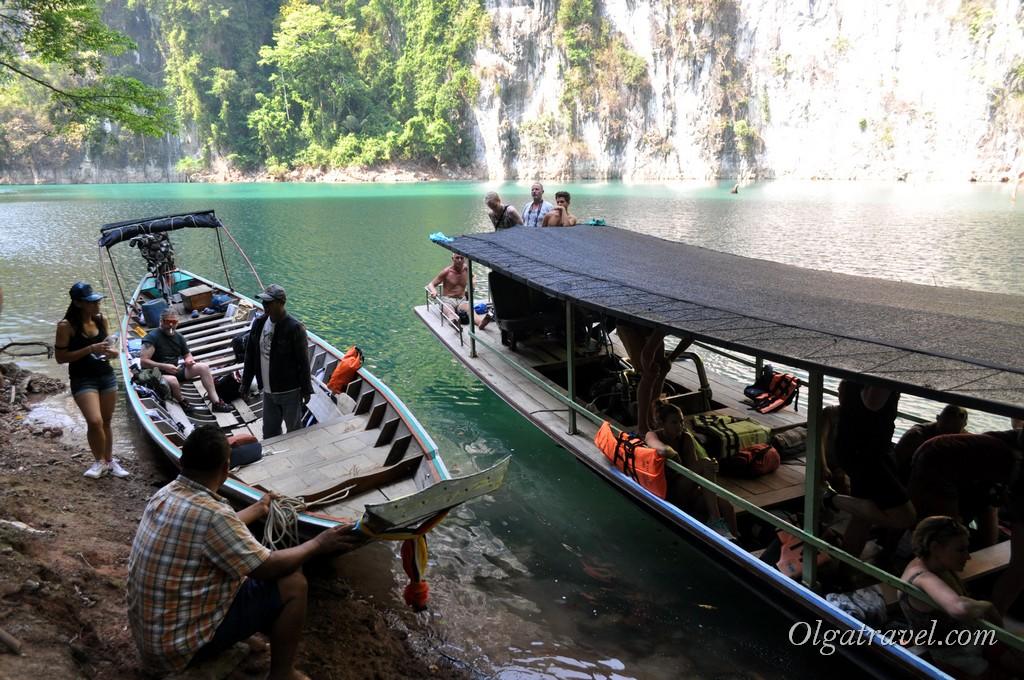 экскурсия на озеро Као Сок