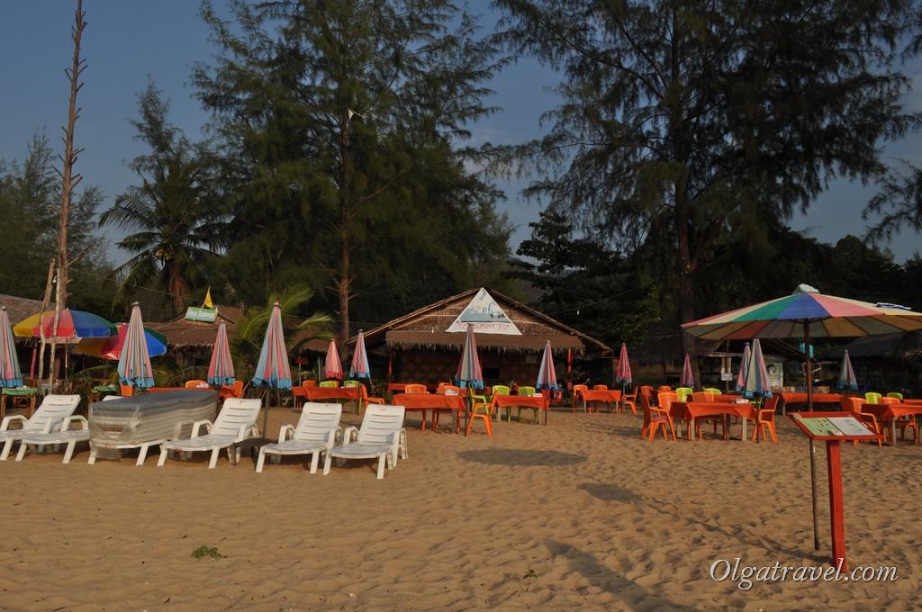 пляж Нанг Тонг Као Лак