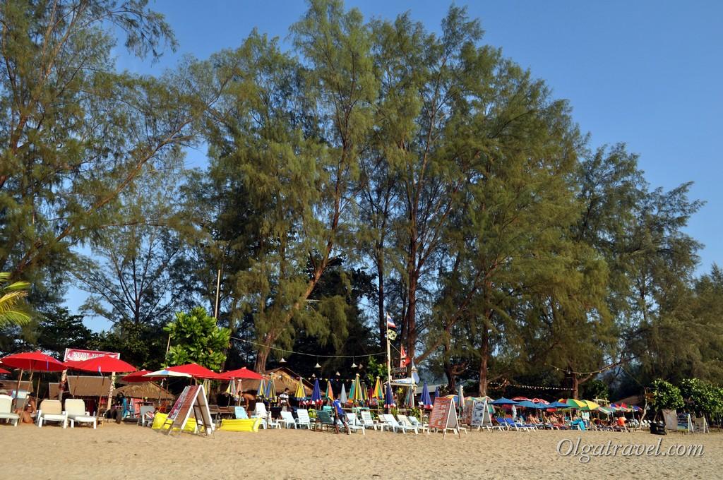 Напоминает пляж в Сиануквиле
