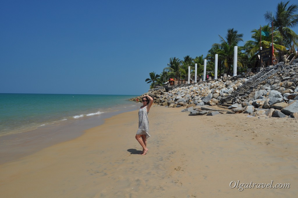 пляж в Као Лак Банг Нианг