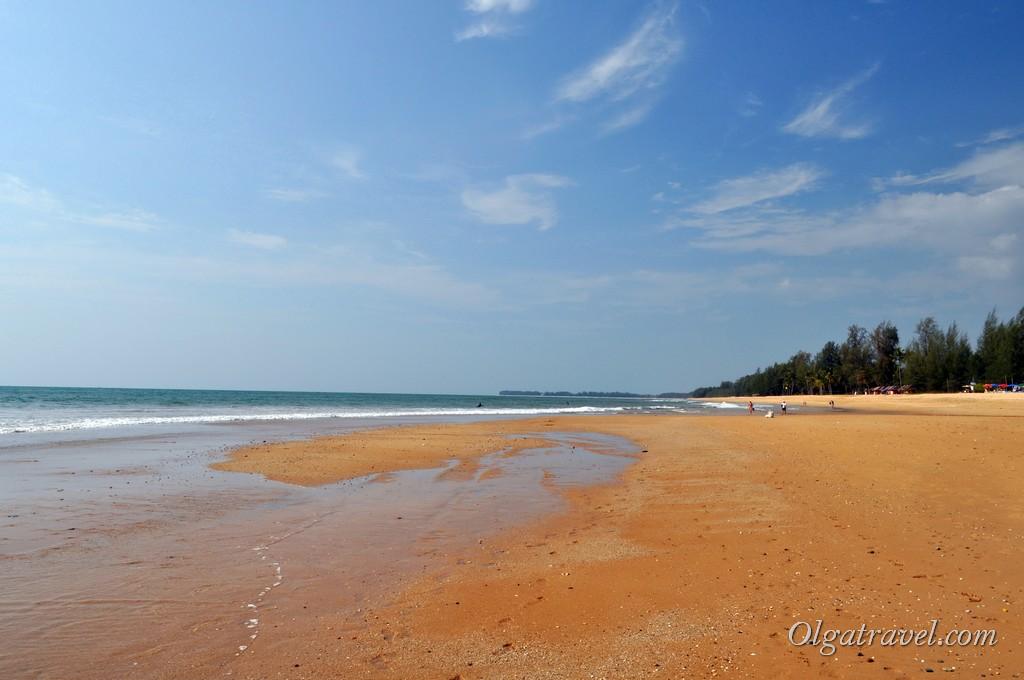 пляж Таиланд