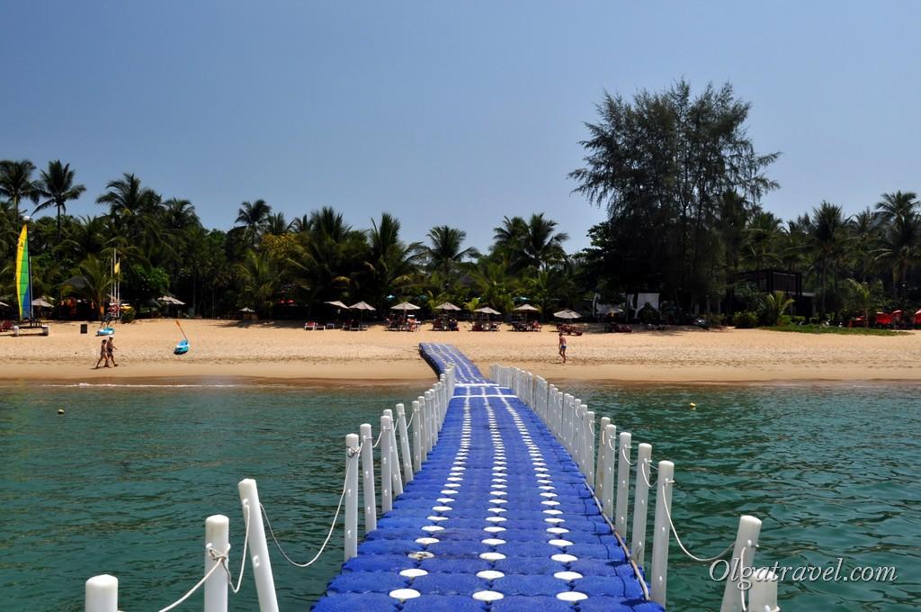 Пляж Банг Нианг Као Лак