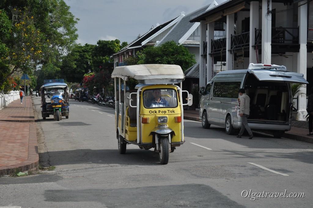 транспорт в Луанг Прабанг