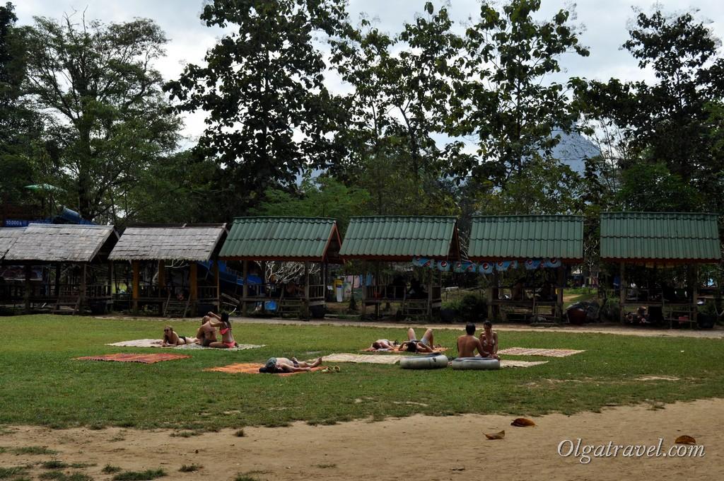 Лаос Ванг Вьенг