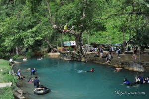 Голубая лагуна Ванг Вьенг