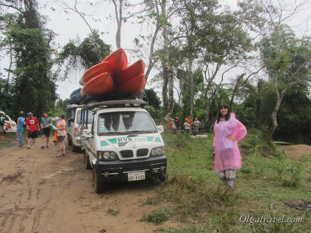 Ванг Вьенг каяк