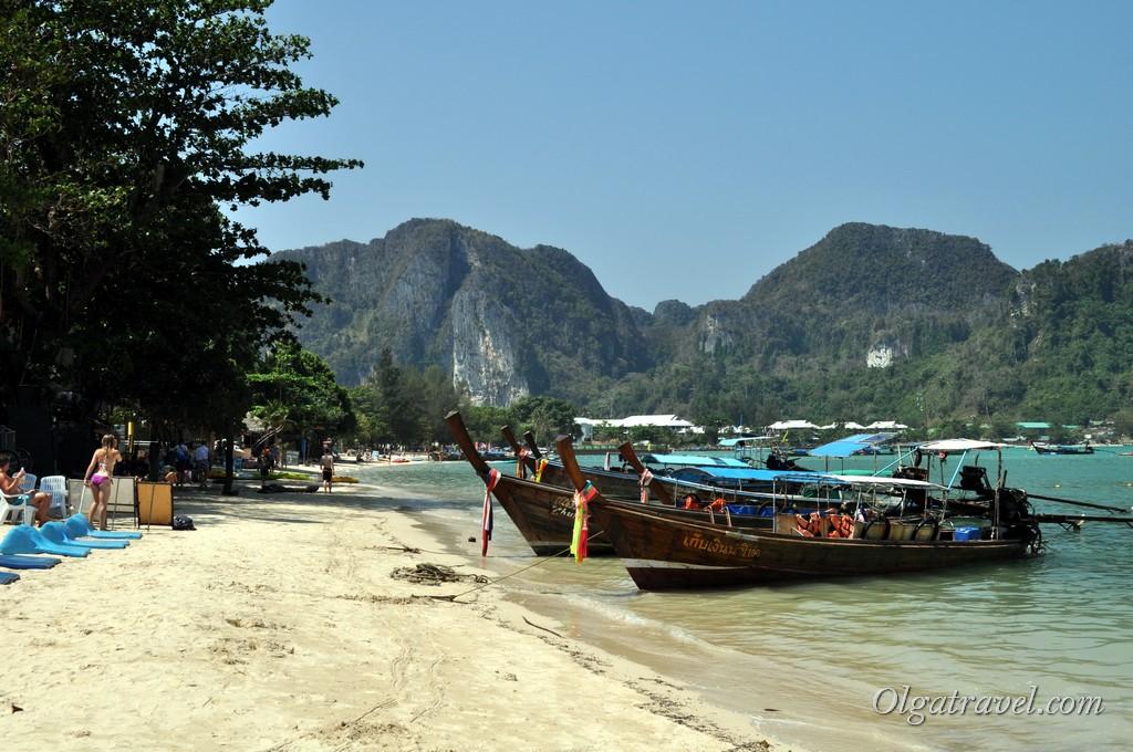 Ло Далам пляж песок