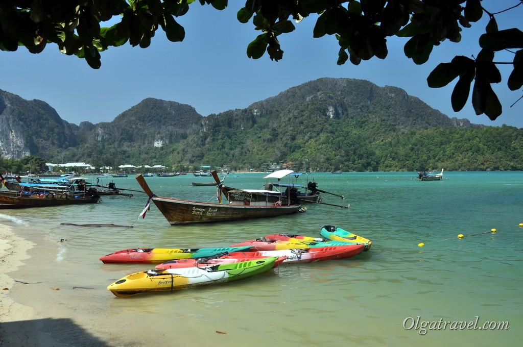 пляж Ло Далам пхи пхи Таиланд