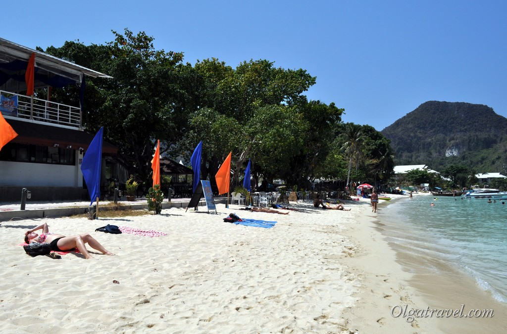 пляжи Пхи Пхи Ло Далам