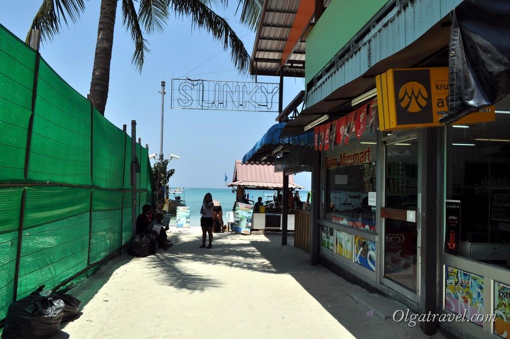 Пхи Пхи остров в Таиланде
