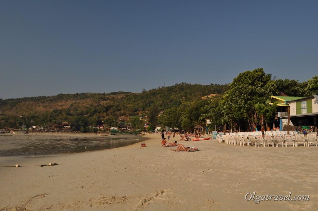 Ло Далам пляж на острове Пхи Пхи