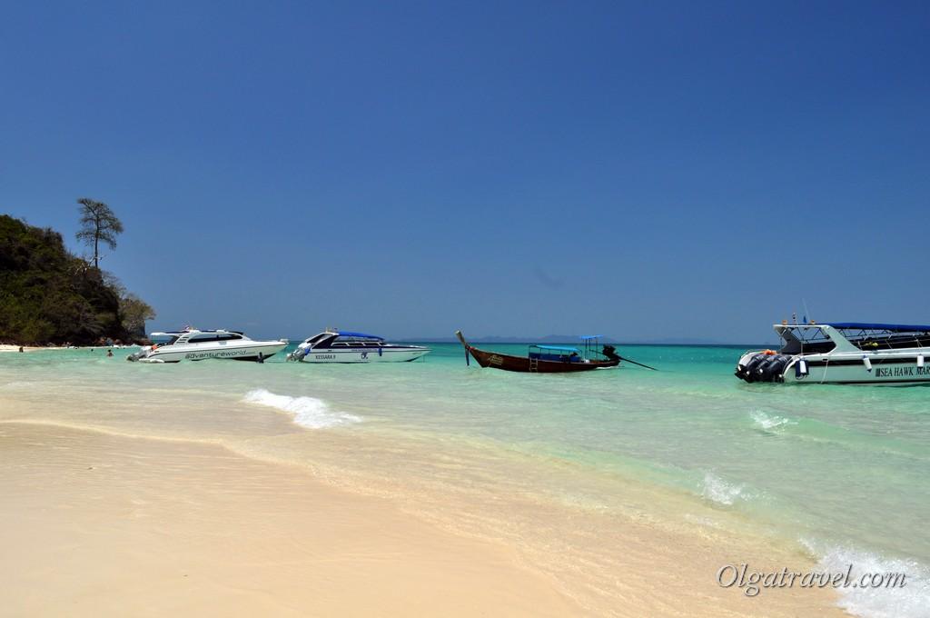 Бамбу остров в Тайланде