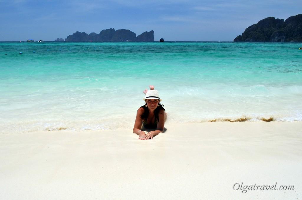 Лонг бич - лучший пляж на Пхи Пхи и один из лучших пляжей на юге Таиланда