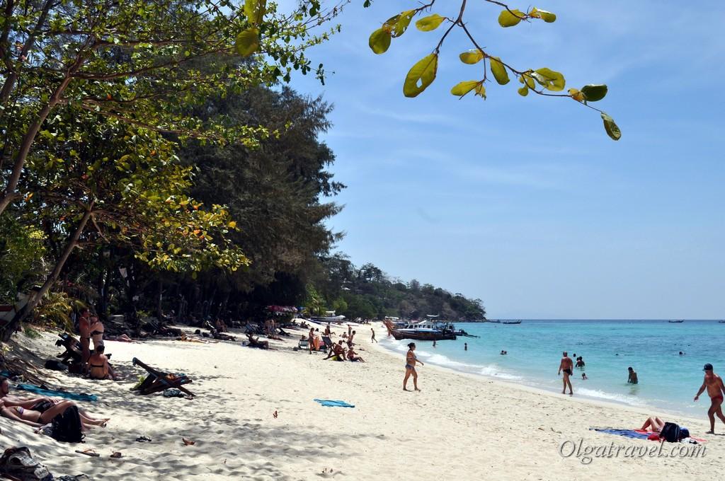 пляж Лонг бич Пхи Пхи