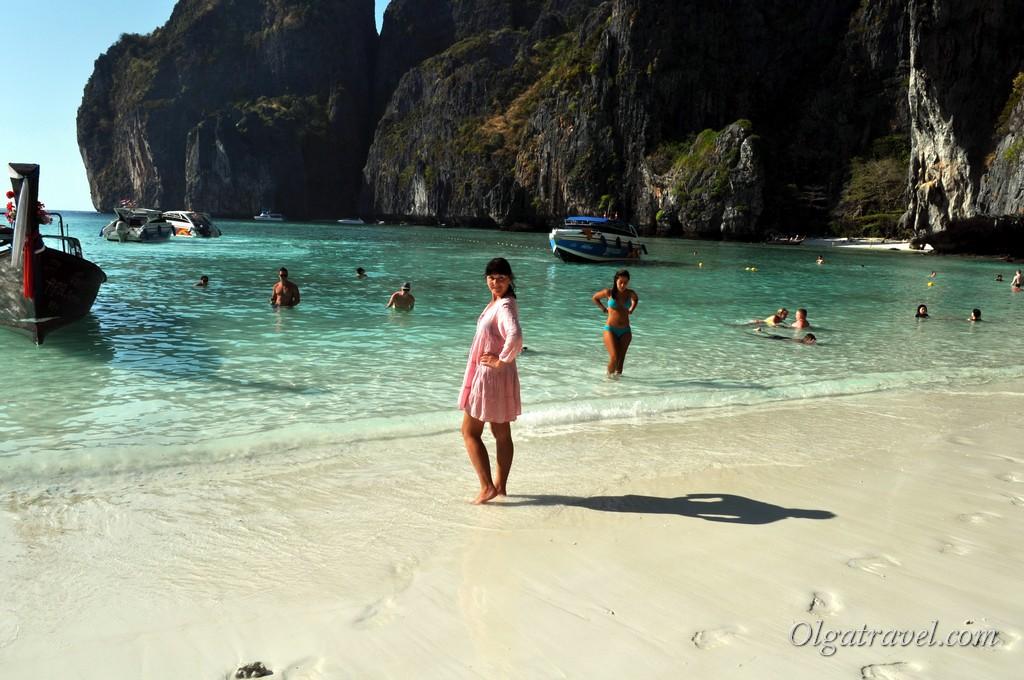 пляж Майя Бэй Таиланд