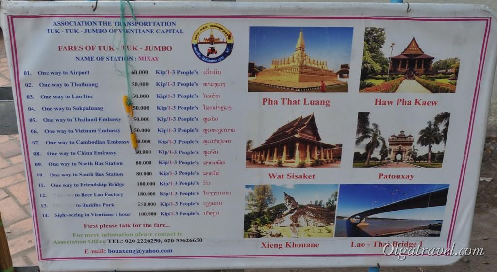 цены Лаос