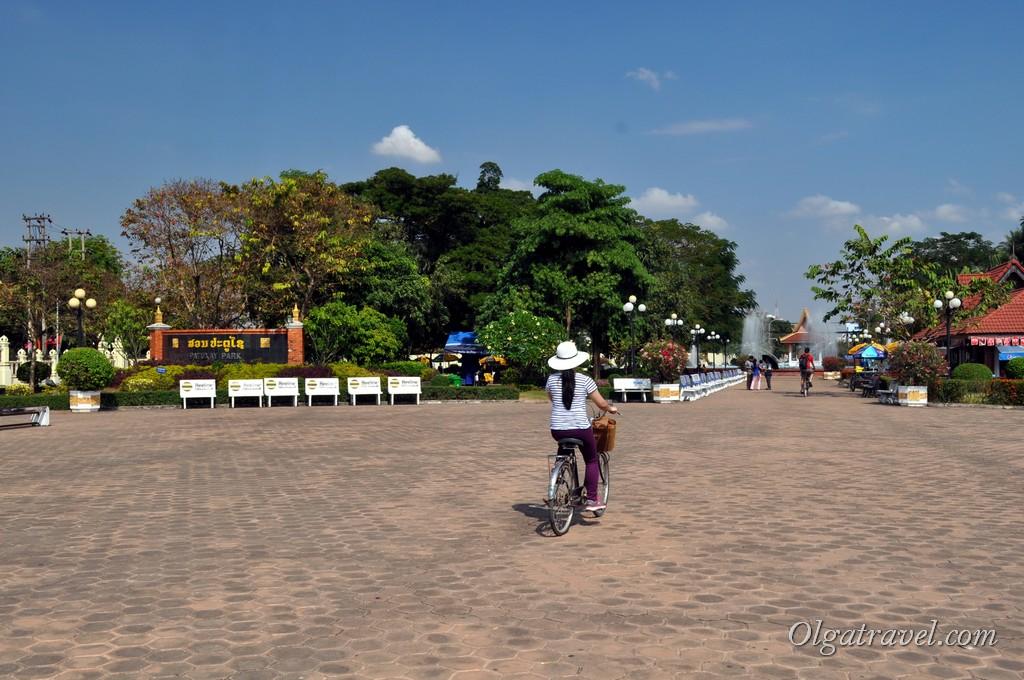 город Вьентьян Лаос