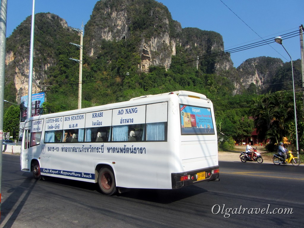 автобус Ао Нанг Краби