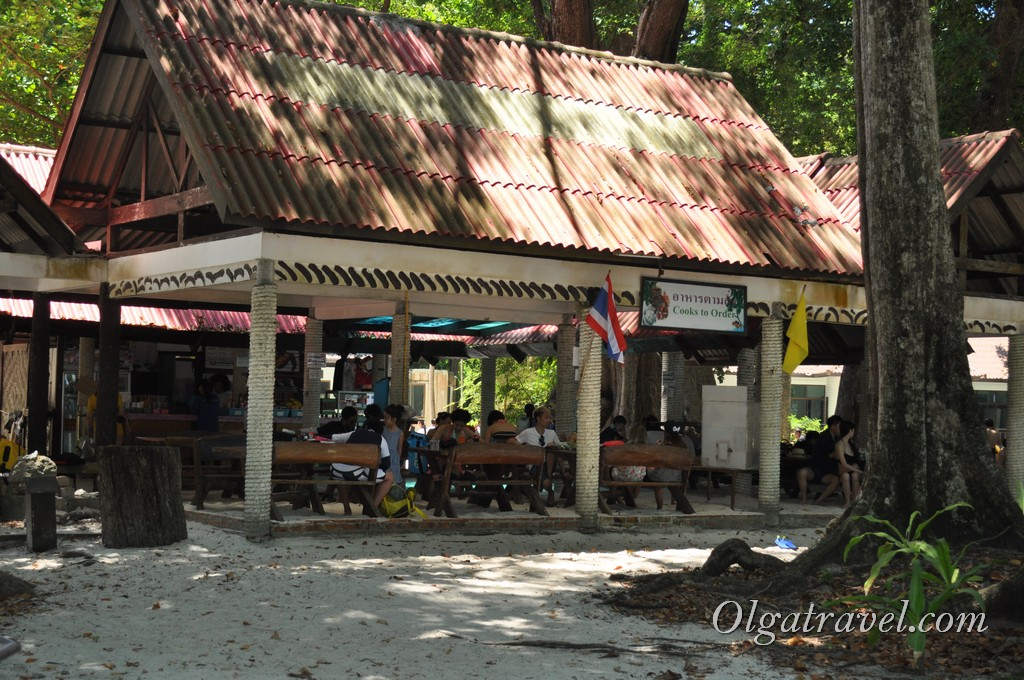Симиланские острова кафе