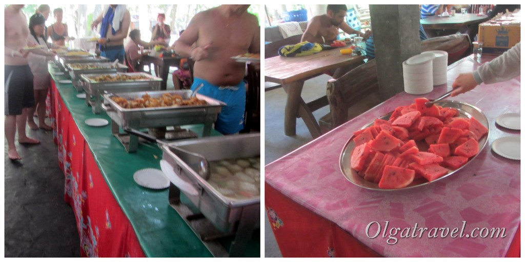 Симиланские острова еда