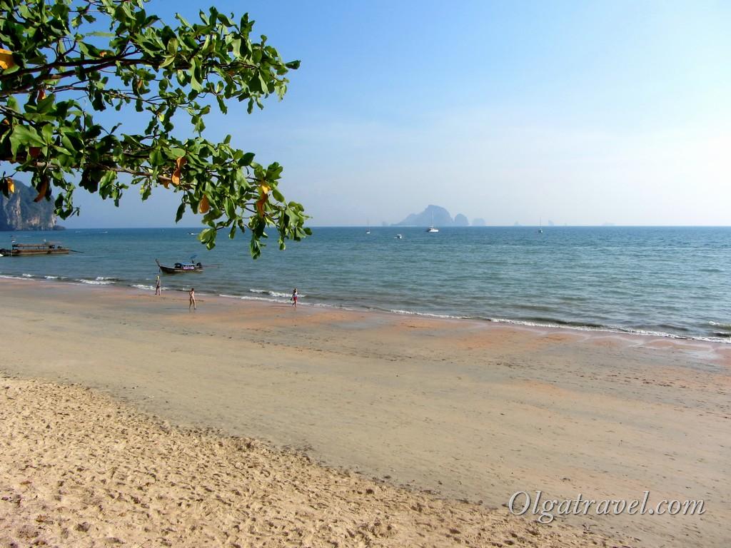 пляж Краби Ао Нанг