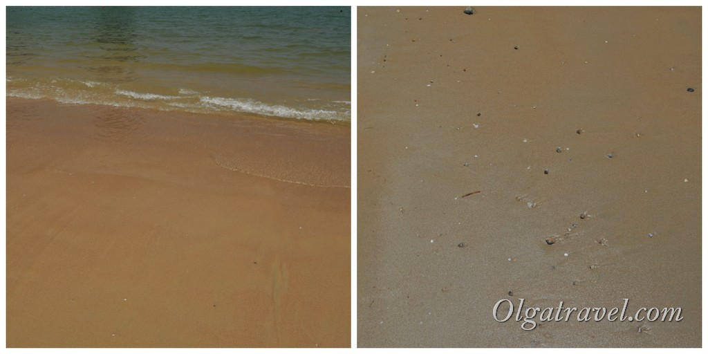 Пляж отеля Центара Краби