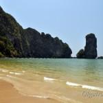 Пляж отеля Центара Краби или где искупаться в Ао Нанге