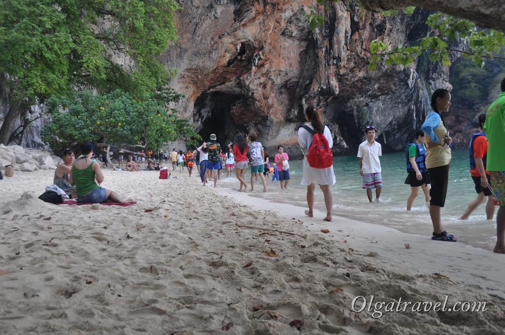 пляж Прананг таиланд