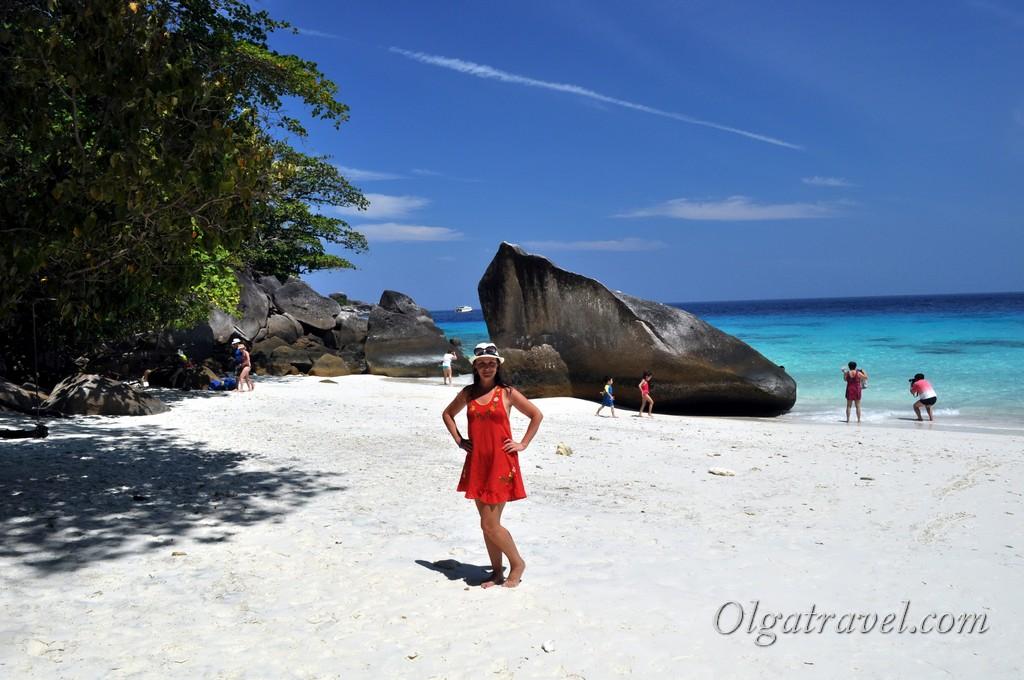Симиланы пляж