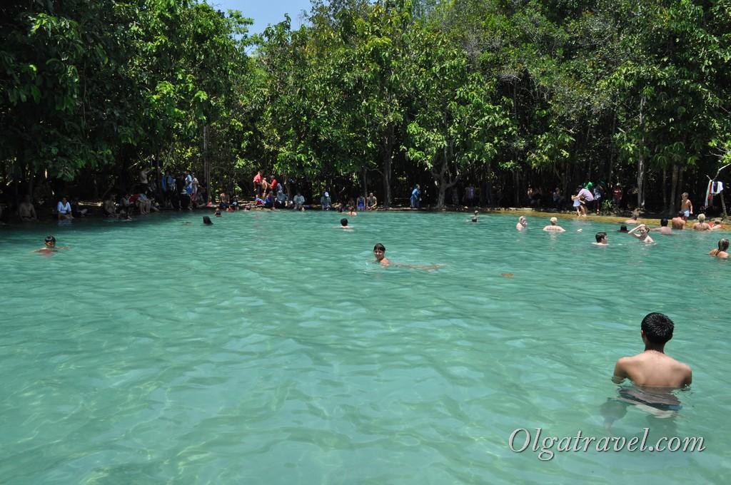 Изумрудное озеро Краби