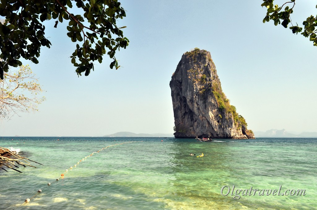 остров Пода краби