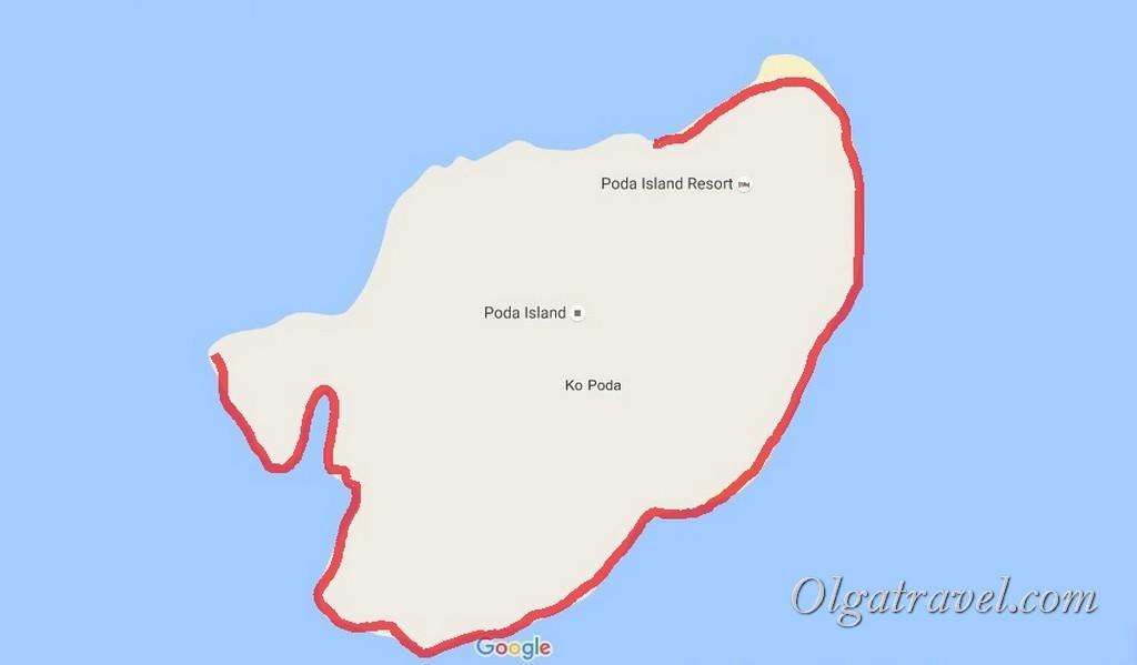 остров Пода Таиланд