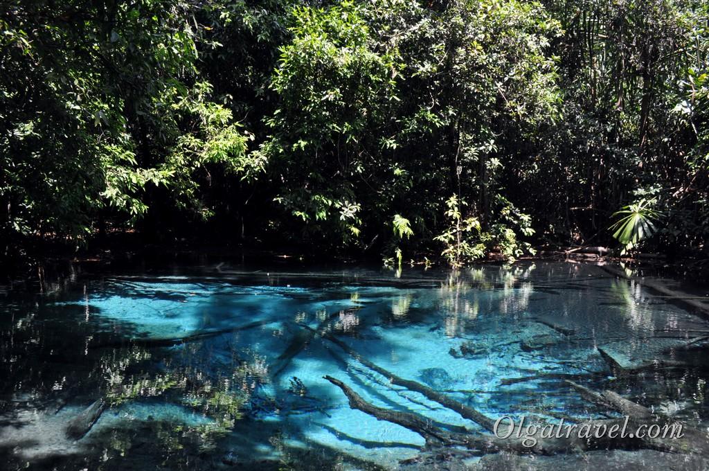 Голубое озеро Краби