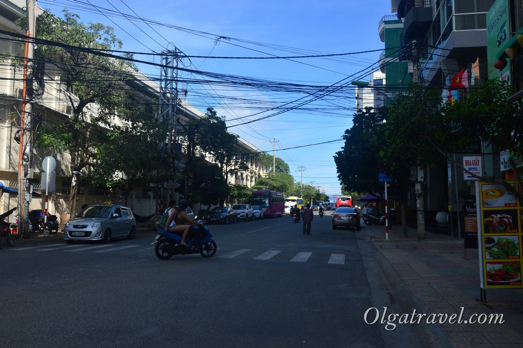 район военного госпиталя Нячанг