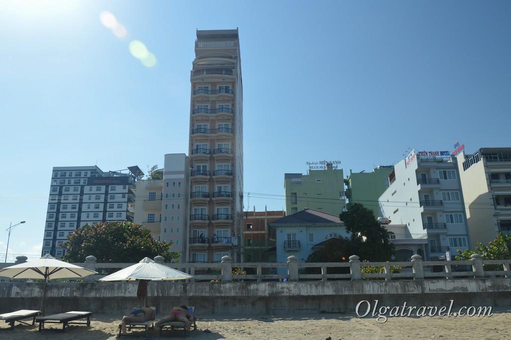 пляжи северного нячанаг