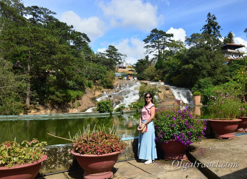 Водопад Кам Ли