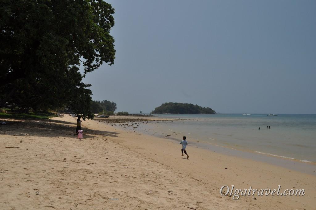 пляж Клонг Муанг бич
