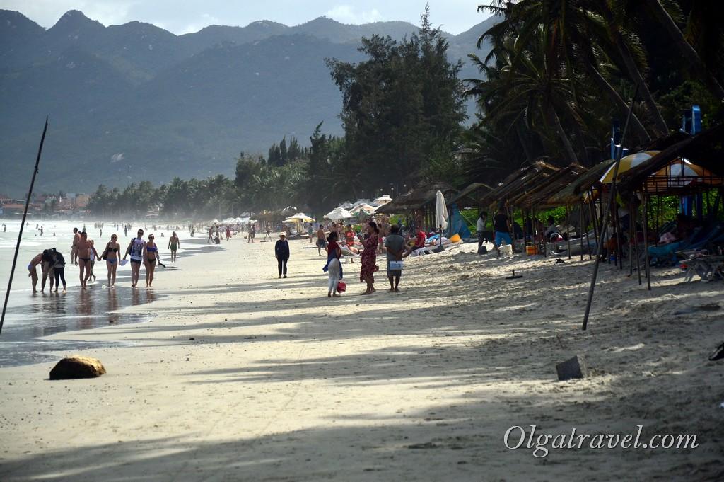 пляж зоклет в январе