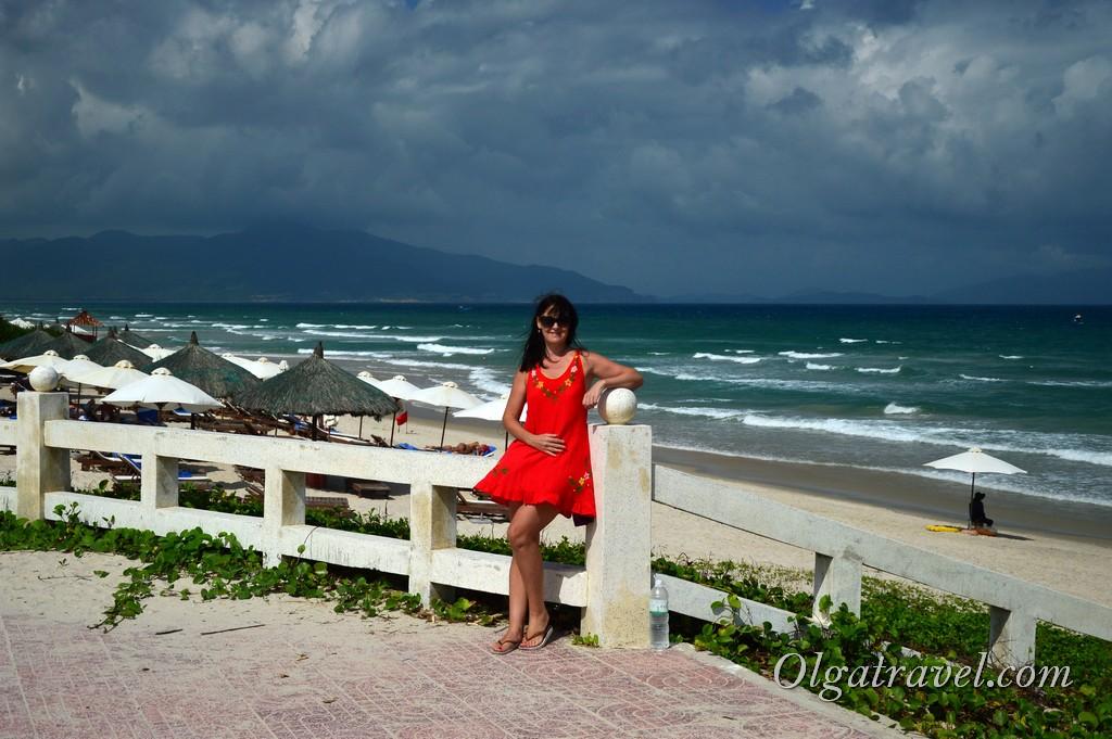 Пляж Бай Дай январь
