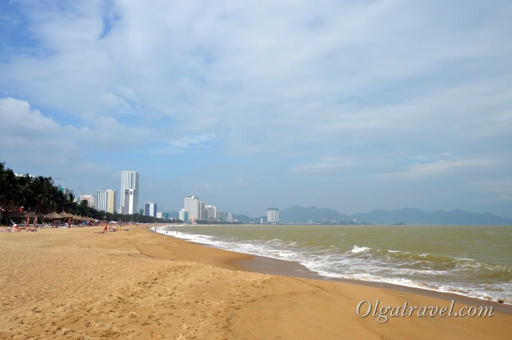 море в Нячанге в декабре