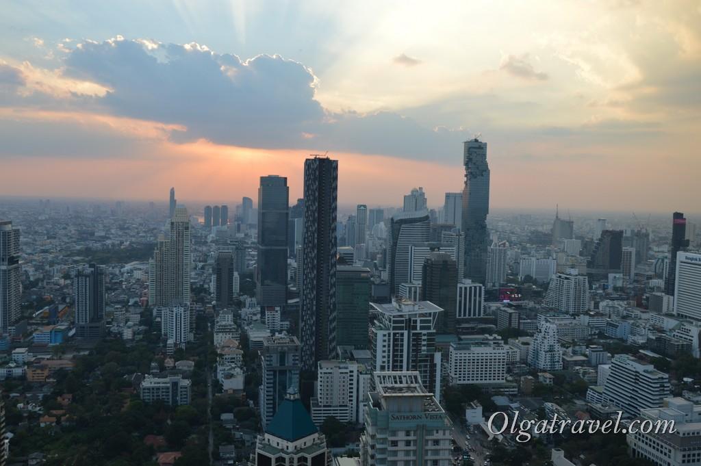 Бангкок с 61 этажа
