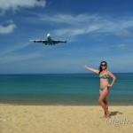 Пляж с самолетами на Пхукете: место, где садятся самолеты прямо над головой!