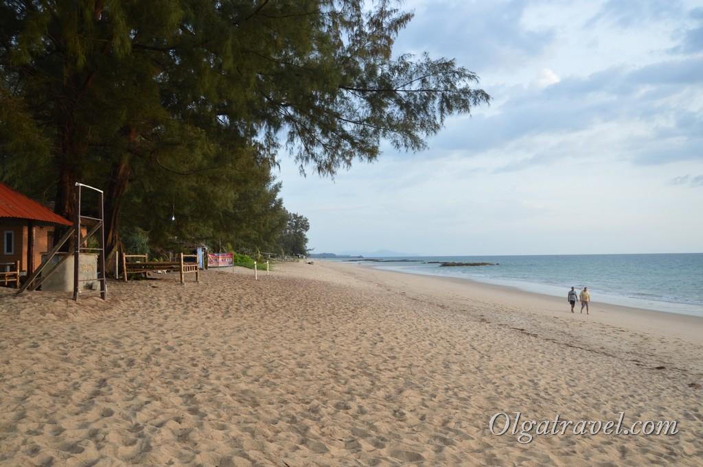 пляж Найтан Таиланд
